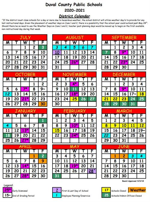 Dcps School Calendar 2021 Spring Park Elementary / Early Dismissal Days