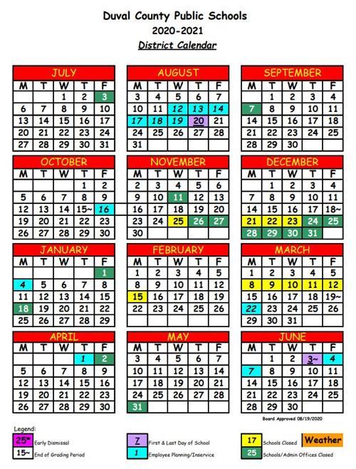 Parent Involvement / District Calendar