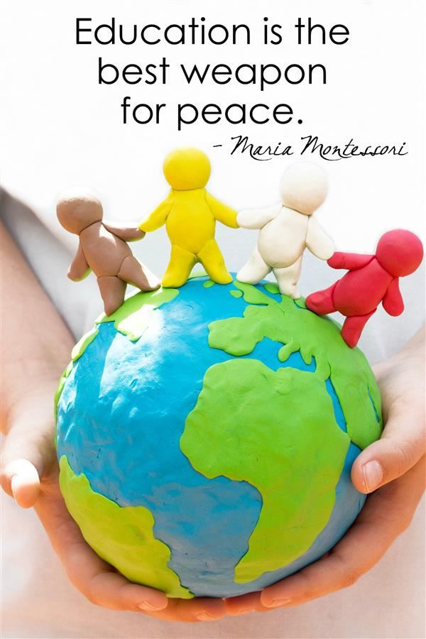 Montessori Peace Quote