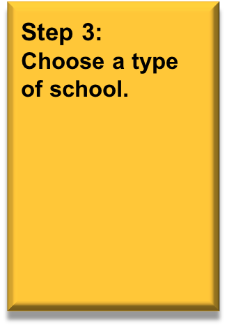 Choose a type of school, click here