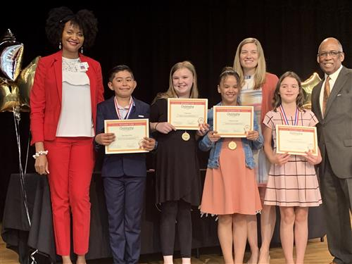 Love Grove Elementary 5th Grade Awards