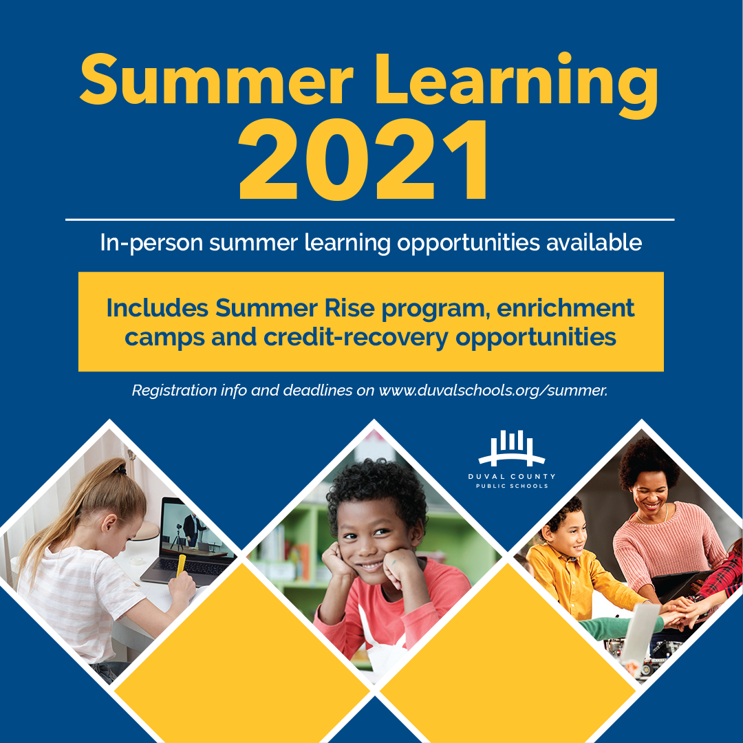 In-person summer learning opportunities available.