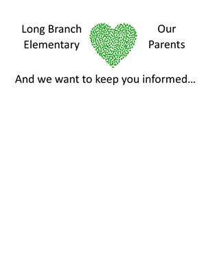 Long Branch Elementary Love Our Parents