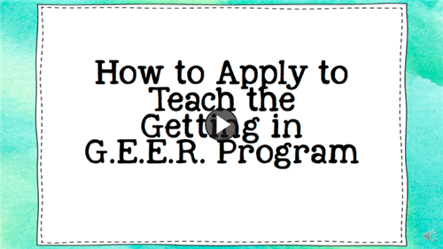 How to apply to teach