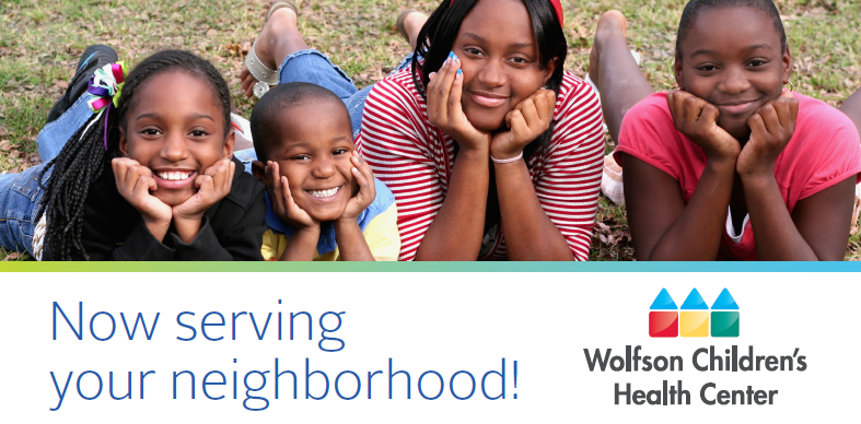 Wolfson Children's Health Center in Your Neighborhood