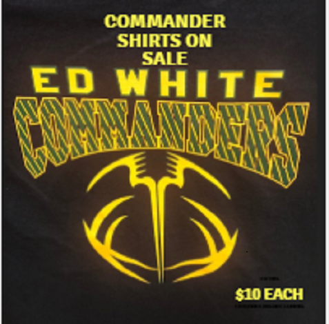 Ed White Commander Shirts On Sale