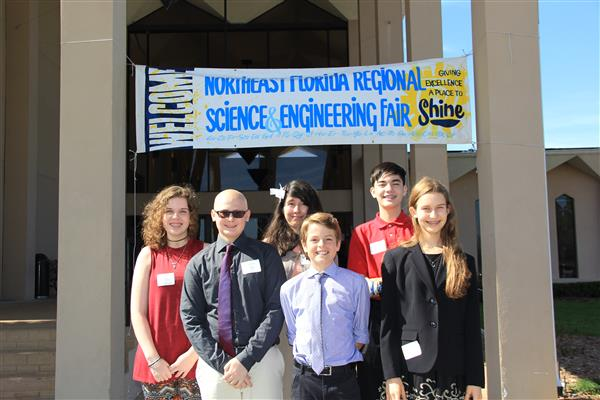 JLCP Students Win Big at the Regional Science Fair