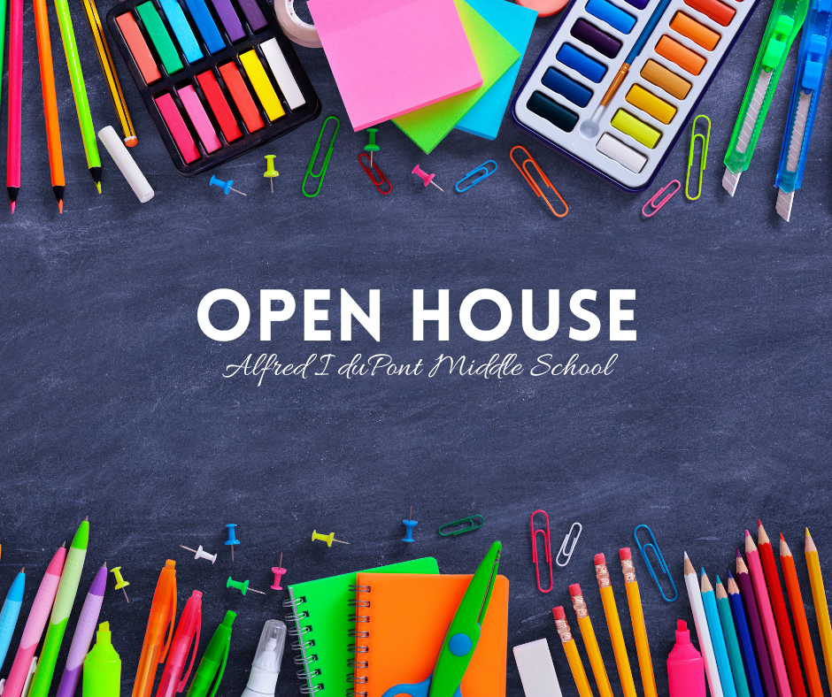 Open House - Tuesday, September 10th at 6:00pm