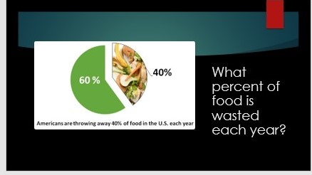 What Percent of Food is Wasted Each Year