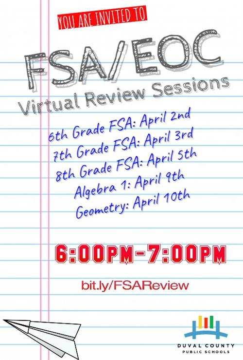 FSA/EOC Virtual Review