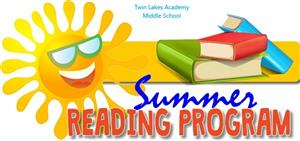 Twin Lakes Summer Reading  2020