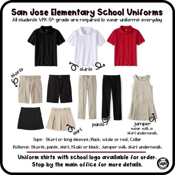 Uniforms Dress Code Dress Code