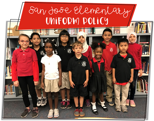 San Jose Elementary Uniform