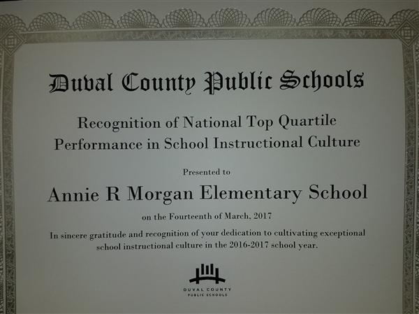 Annie R Morgan Elementary Homepage