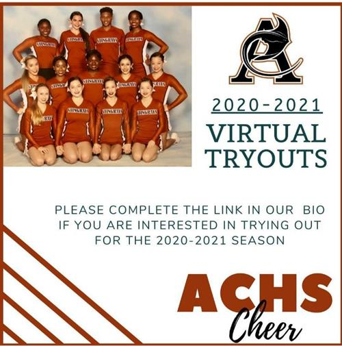 Virtual Cheer Tryouts