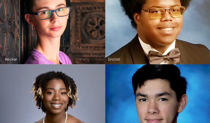 Four recent graduates honored for 13 years of perfect attendance