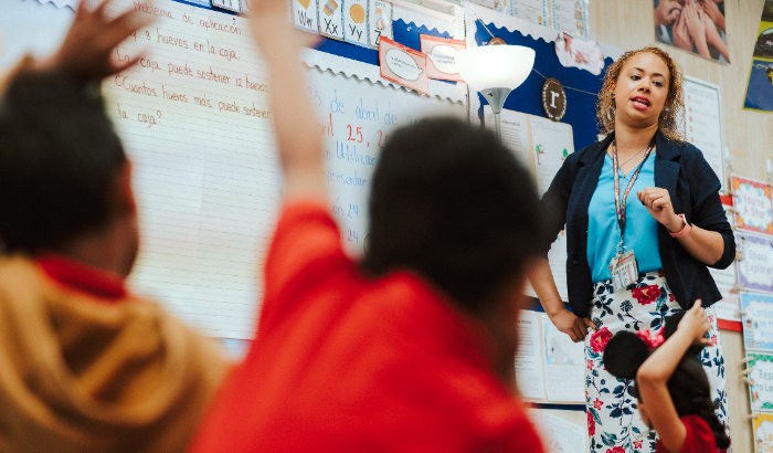 Teachers, students, and parents get voice in improving schools
