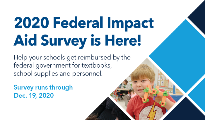 2020 Federal Impact Aid survey is online, available for all parents