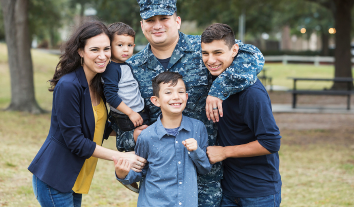 Highlighting how schools support military children