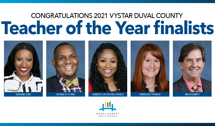 Finalists for 2021 VyStar Teacher of the Year announced