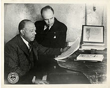 James Weldon and John Rosamond Johnson (Image provided by Creative Commons Attribution-Share Alike 4.0 International)