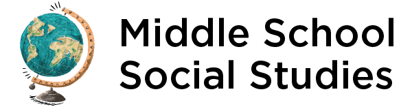 middle school social studies header