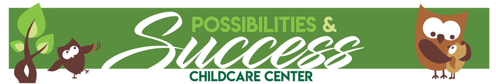 Possibilities & Success Childcare Image Banner