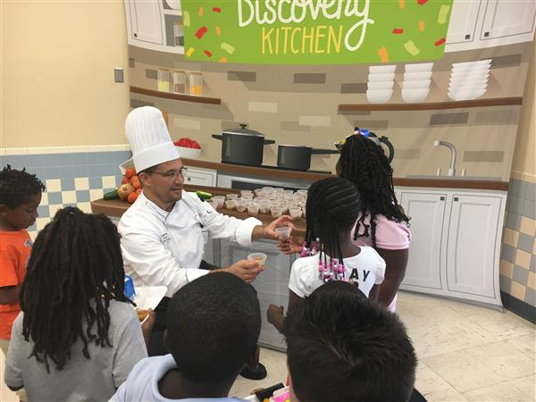 Nutrition Program Celebrates National Nutrition Month with Wellness Education and Healthy New Menu Items