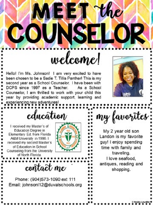 Meet The Guidance Counselor Guidance Resources