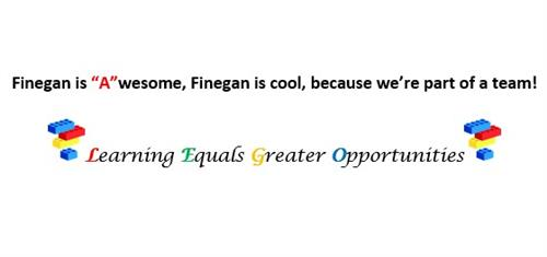 Finegan is an A school!