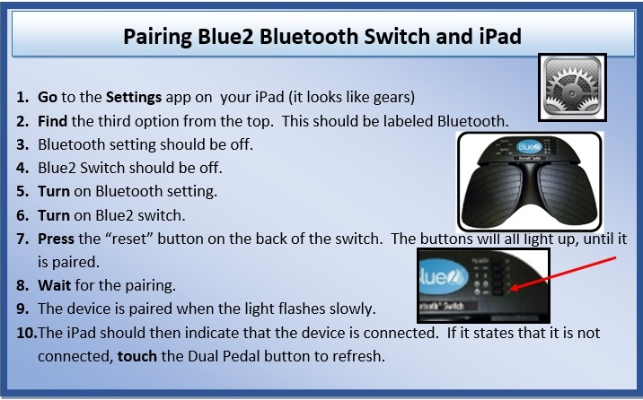 Pairing Blue2 Bluetooth