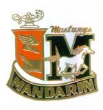 Mandarin High Crest Logo