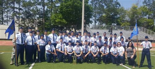 Drill Team 1st Place in Georgia