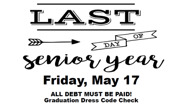 Class of 2019 Senior Page Information (Prom) / Class of 2019