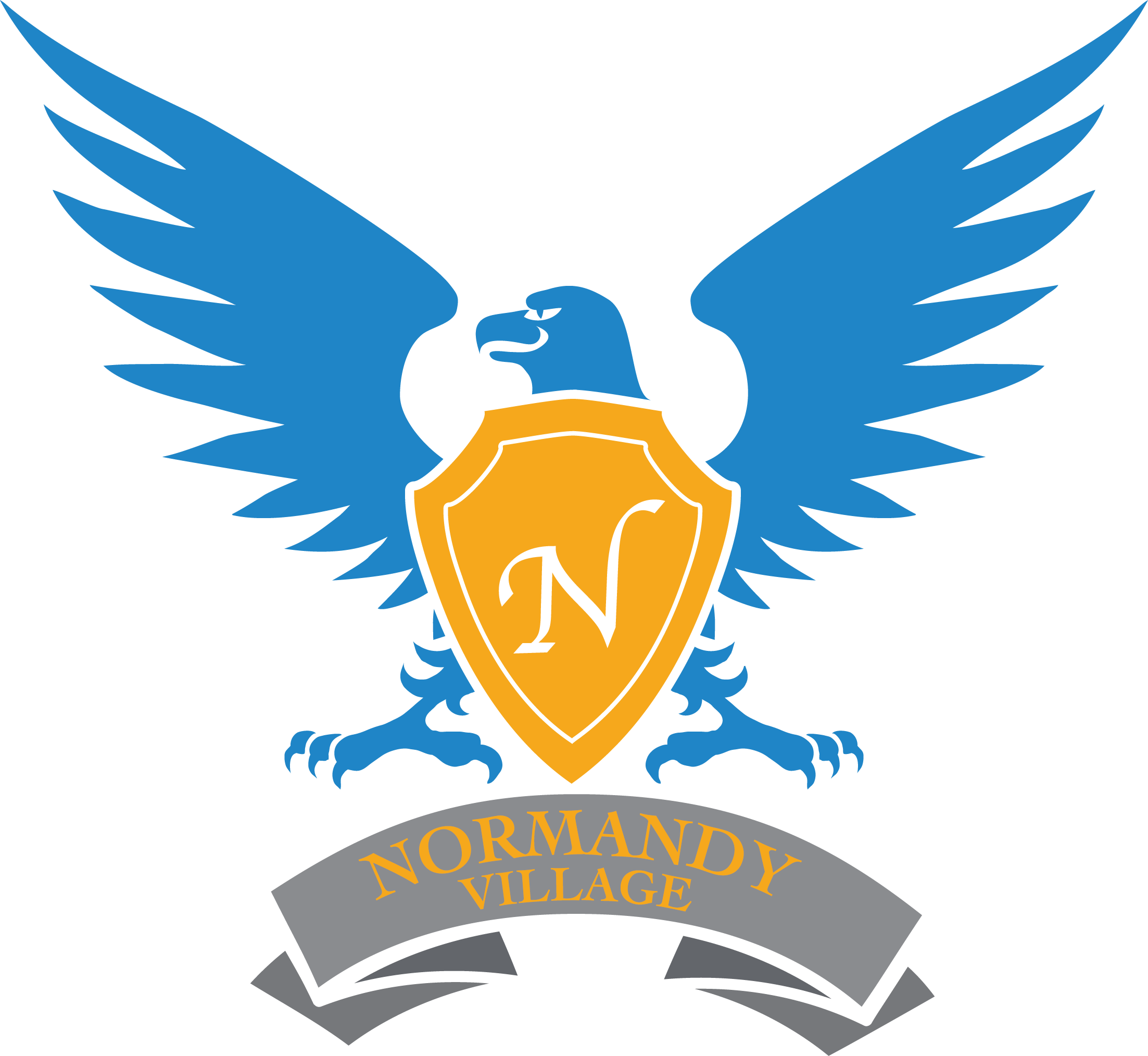 Normandy Village Elementary Logo