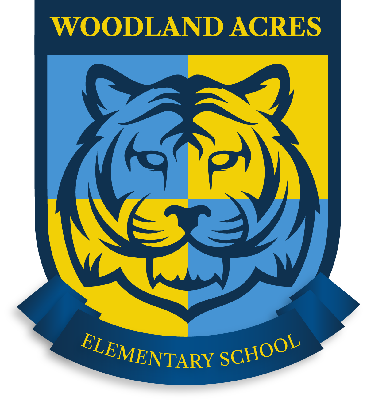 Woodland Acres Elementary Logo