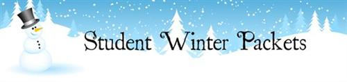 Student Winter Packets